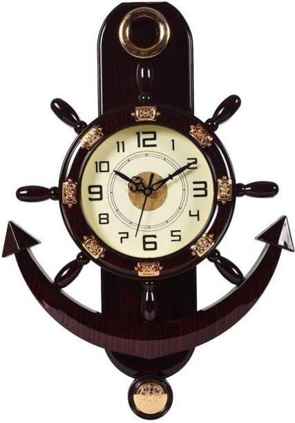 Smile2u Retailers Analog 45 cm X 30 cm Wall Clock