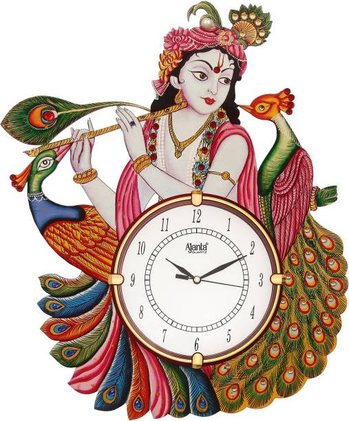 AJANTA Analog 38 cm X 30.48 cm Wall Clock