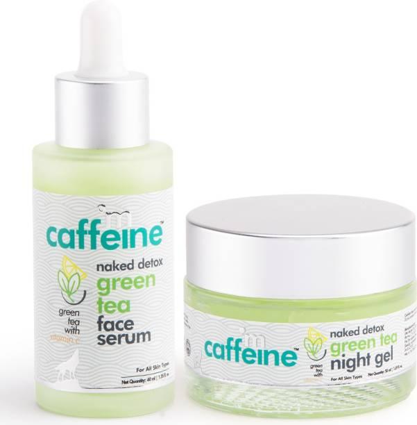 MCaffeine Green Tea Face Hydration Kit for Dull Skin