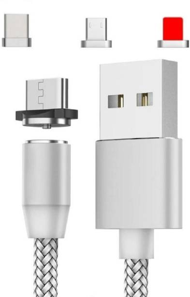 KARWAN 3 In 1 Magnetic Charger 1.2 mm Magnetic Charging Cable