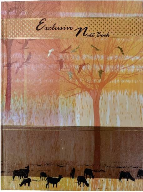 MasterMindMajesty A4 Dear Notebook A4 Notebook Single Line 208 Pages