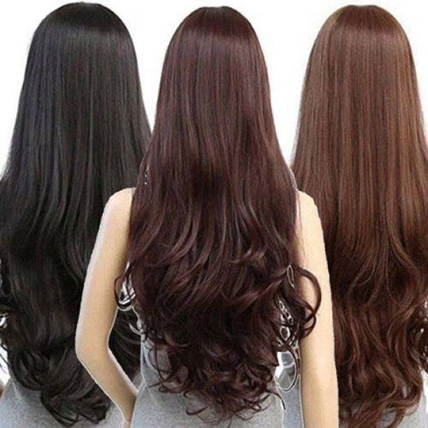 Artifice 23 Clips Curly/Wavy  Extension High Temperature Synthetic Fiber 24#1 Hair Extension