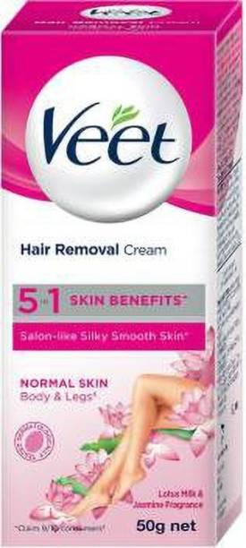 Veet Silk & Fresh Normal Skin Hair Removal Cream 50 g ( PACK OF 1 ) Cream