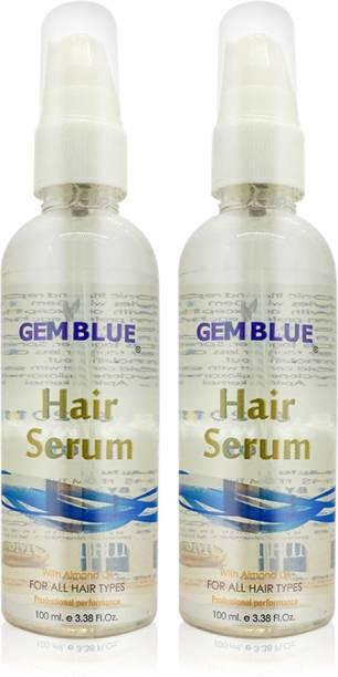 GEMBLUE BIOCARE Hair Serum Almond 100 Ml Pack of 2