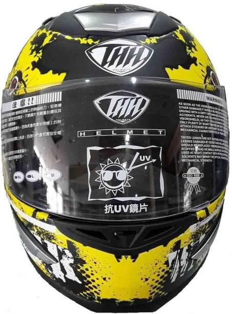 THH HELMETS TS-41 Destroy Full Face Single Shield Helmets Motorbike Helmet