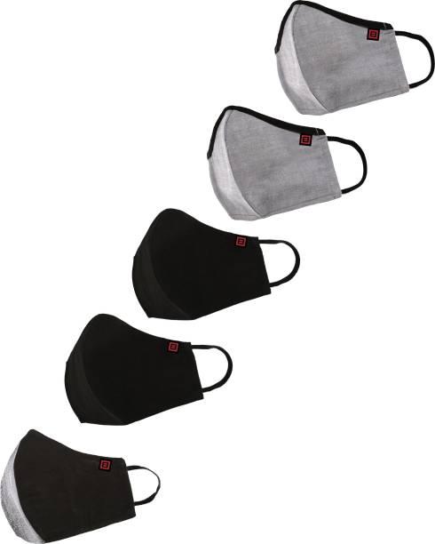 Billion BREATH reusable outdoor mask FM08-Black&Grey Reusable Cloth Mask