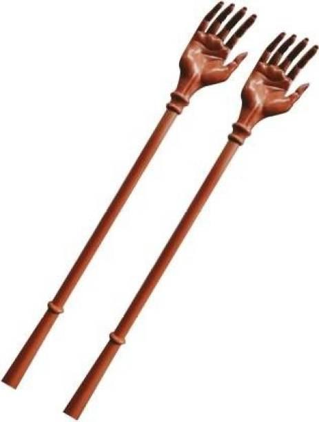 biennial 2020hand massager stick Extendable Itching Stick Back Massager & Scratcher(brown) Massager
