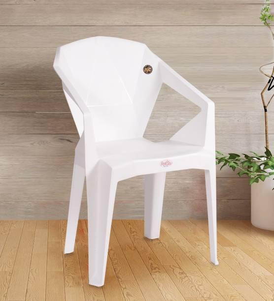 Petals Nakshartra Plastic Outdoor Chair