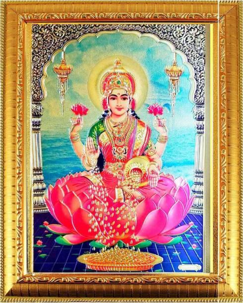 SUNINOW Laxmi Photo Frame |God Photo Frames | Photo Frame Religious Frame
