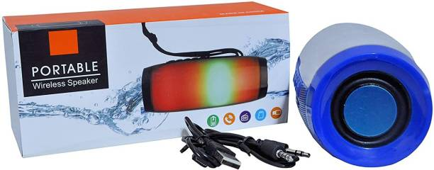 IMMUTABLE 158 -RRBT SPK TG-157 Loudspeaker Bluetooth Wireless Speakers Flash Light Subwoofers 10 W Bluetooth Speaker