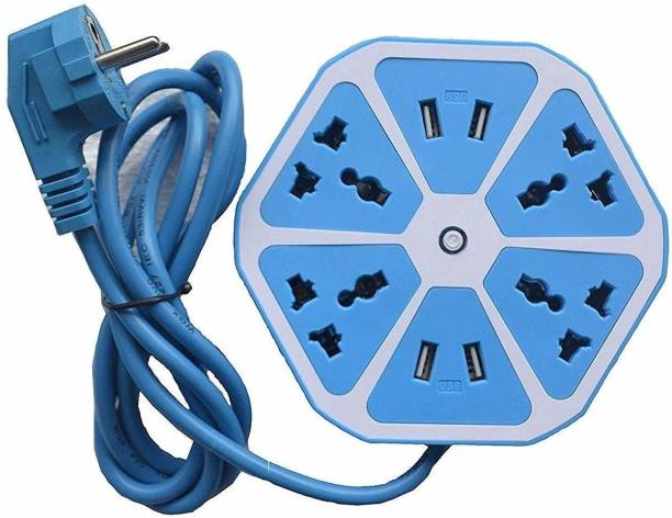 NITLOK HEXAGON USB SOCKET BOARD 10 A Three Pin Socket