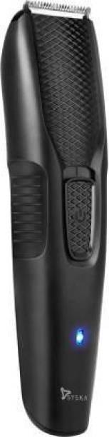 Syska BeardPro Trimmer Cordless Use & USB Charging  Runtime: 40 min Trimmer for Men