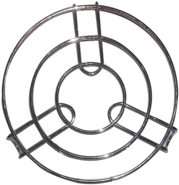 AGGARWAL Stainless Steel Cooker Stand / Ring steel Trivet
