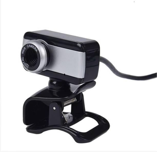 HI-LITE HD 480P Webcam for PC Laptop Desktop, USB Webcam with Microphone for Video Conferencing Video Calls, USB Full HD Webcam Compatible with Skype, FaceTime, Hangouts, Plug and Play Webcam  Webcam