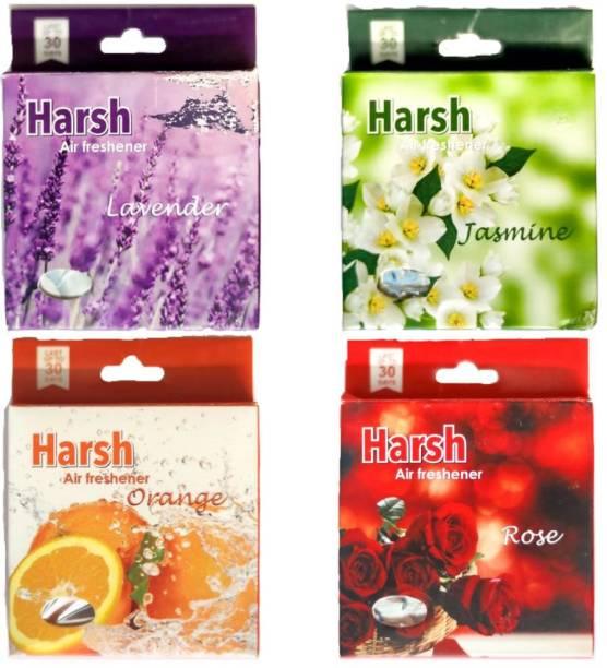 Harsh MULTIPACK(4), LAVENDER, ORANGE, ROSE, JASMINE Blocks