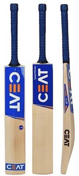 Ceat six hitman Bat with COVER Poplar Willow Cricket  Bat
