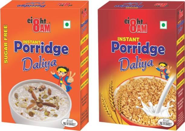 8AM Instant Porridge+ sugar free Porridge