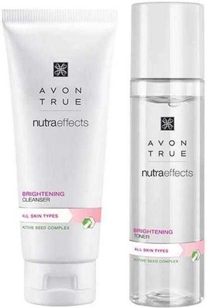 AVON True Nutraeffects Brightening Cleanser toner (100 g + 150 ml)