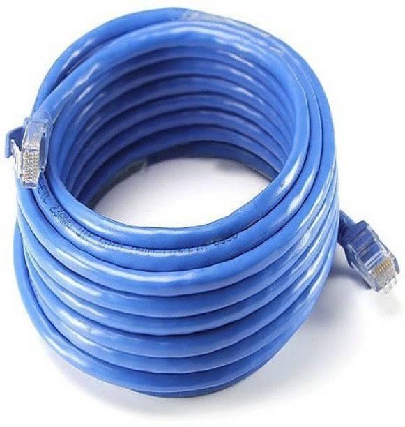 techut 30 Meters CAT 6 Ethernet Cable Lan Network CAT6 Internet Modem RJ45 Patch Cord 30 m LAN Cable