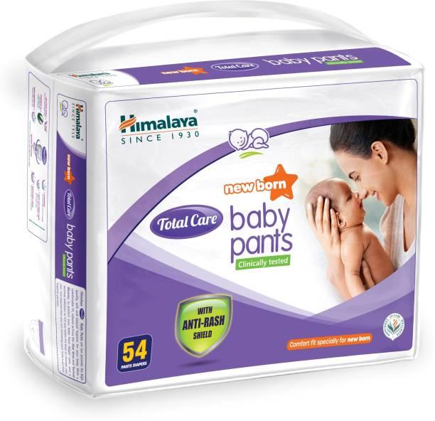 HIMALAYA Total Care Baby Pants New Born 54 Count - New Born