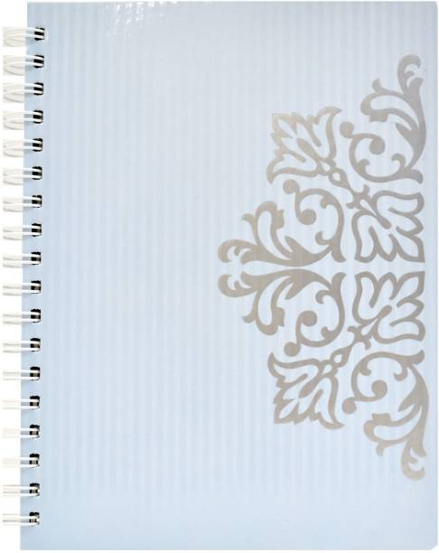 MasterMindMajesty Blue Royalle A4 Notebook Single Line 232 Pages