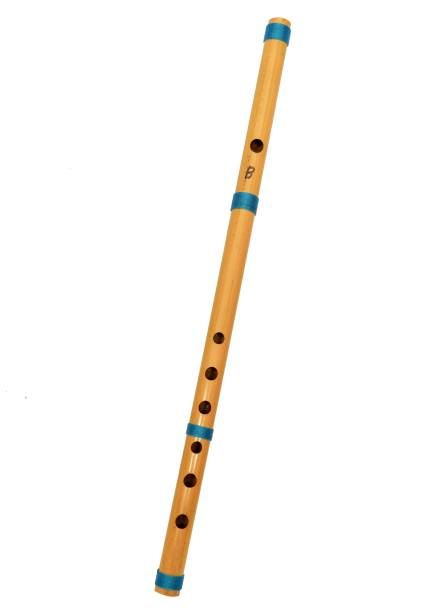 Foora Musical B Scale Professional Hand Made Bamboo Flute 19 Inch INDIA Bamboo Flute