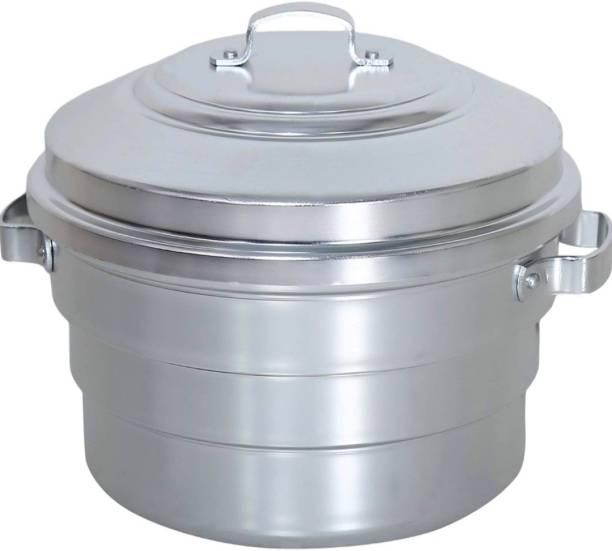 subaa Hard anodised Aluminium Idli Cooker Steamer For home & Hotel Standard Idli Maker