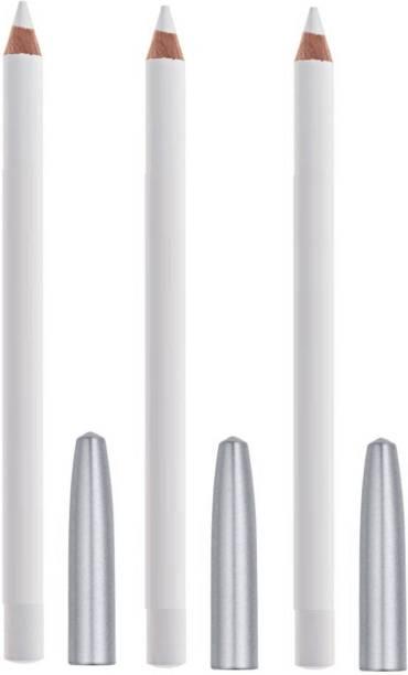 HGCM PERFECT NEW REVOLUTION SMUDGEABLE NEW WHITE KAJAL pack of 3