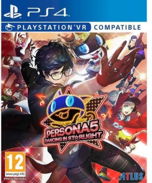 Persona 5: Dancing in Starlight (PS4) By Sega (Mature)