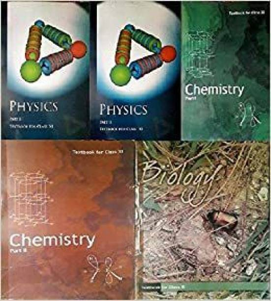 NCERT Textbooks Physics, Chemistry And Biology Class 11(5 Books Combo) 2019 Edition Paperback – 1 January 2019