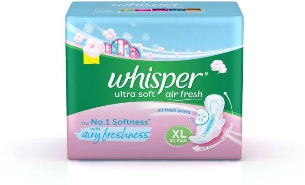 Whisper Ultra Soft XL Wings Sanitary Pad
