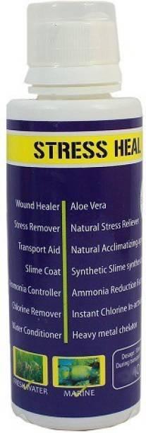 AQUATIC REMEDIES Ammonia Controller Chlorine Remover Fish Stress Heal Water Conditioner , 100ml Aquatic Plant Fertilizer