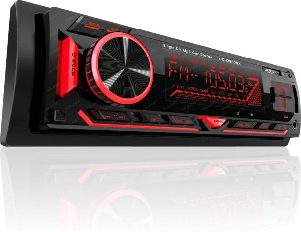 DULCET DC-D9000X 220W Detachable Front Panel Universal Fit Single Din Mp3 Car Stereo with Dual USB Ports/Bluetooth/Hands Free Calling/FM/AUX Input/SD Card Slot & Remote Control DC-D9000X Car Stereo