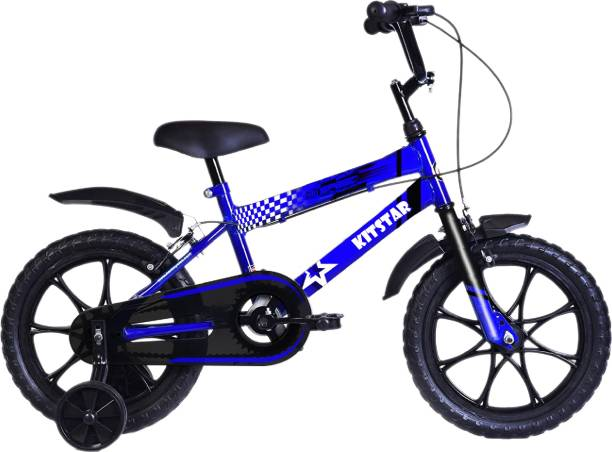 Kitstar HiSpeed Kids Cycle for 2 - 4 Years with Training Wheel 14 T Recreation Cycle