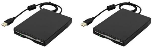 "royalcomputer rts 3.5"" USB Portable External Floppy Disk Drive 1.44 MB FDD for PC Windows 2000/XP/Vista/7/8/10 Plug and Play_90 External DVD Writer"