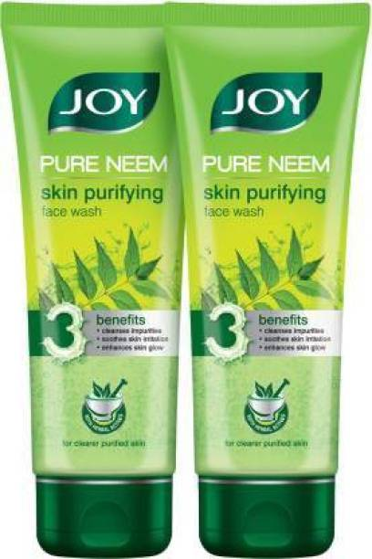Joy Pure Neem Skin Purifying (Pack of 2) Face Wash
