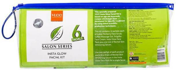 VLCC Professional Salon Series insta Glow Facial Kit Pack of 6