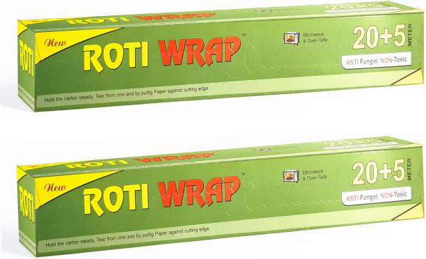 ROTIWRAP ROTI WRAP Wrapping Paper/Butter Paper Foil, Oil Proof/Sandwich Wrap Paper/Food Wrapping Parchment Paper
