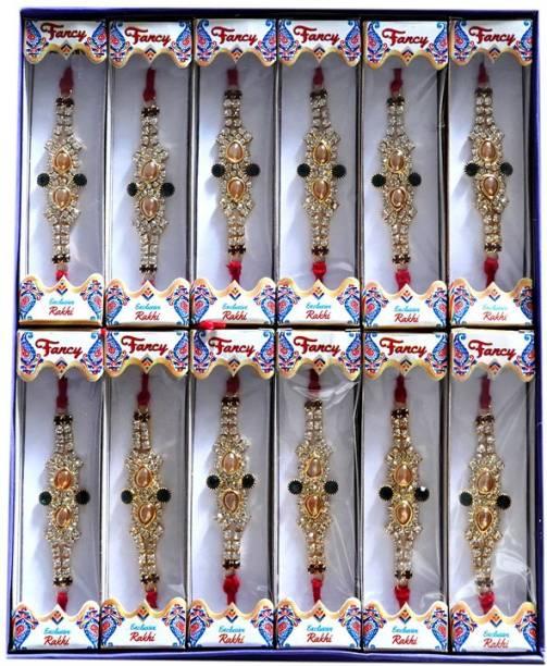BHAVYA SALES Designer Rakhi  Set