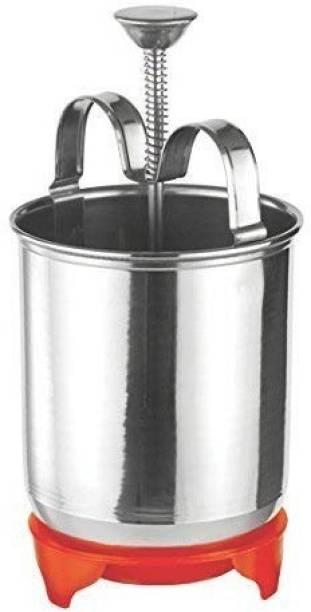 NMS TRADERS Kitchen Appliances - WADA Vada Donut Maker Dispenser, Stainless Steel. Vada Maker