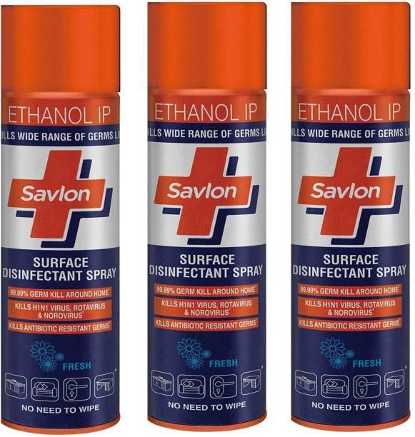 Savlon Surface Disinfectant Spray 170 GM X3