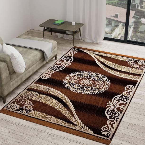 Vram Brown Velvet Carpet