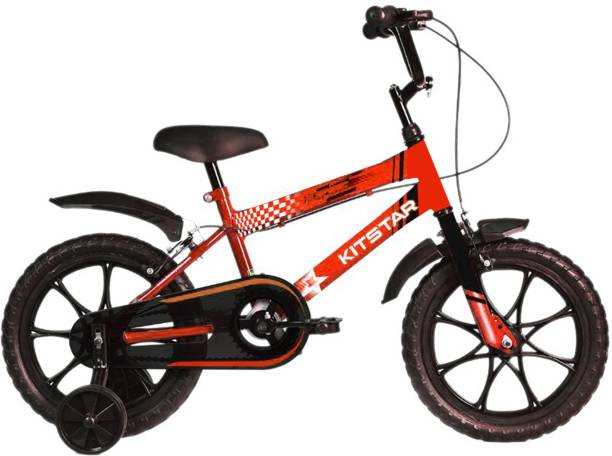 Kitstar HiSpeed Kids Cycle for 2 -4 Years with Training Wheel 14 T Recreation Cycle