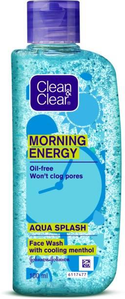 Clean & Clear Morning Energy Aqua Splash Face Wash