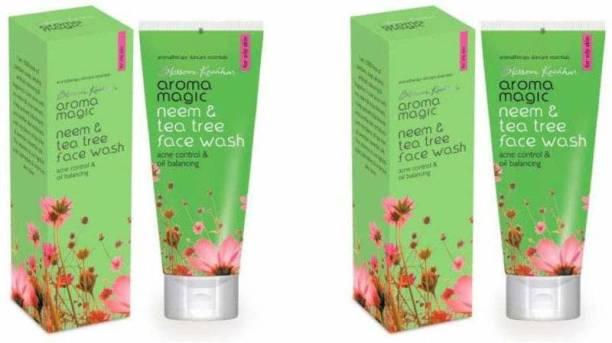 Aroma Magic Neem & Tea Tree (pack of 2) Face Wash