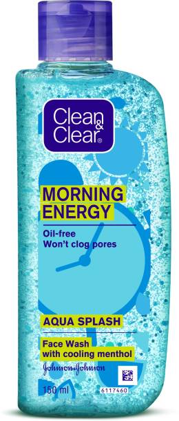 Clean & Clear Morning Energy Aqua Splash Face Wash