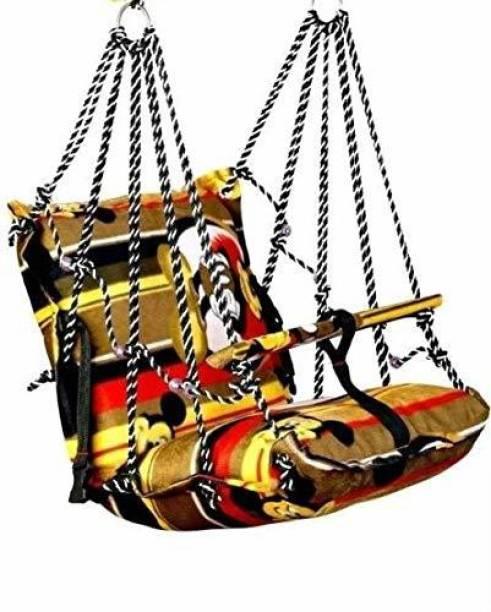 riaan khilona cotton swing for kids 1-4 years kids (multicolor) Swings