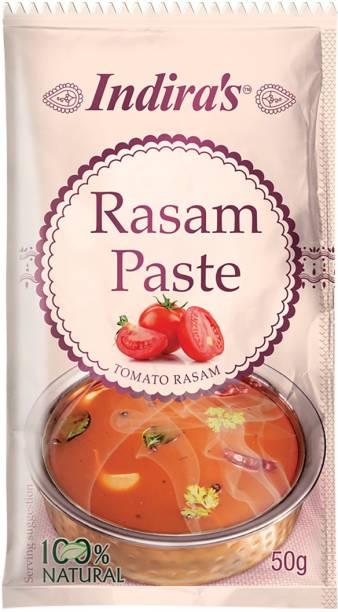 Indira Tomato Rasam Paste 50g Pack of 9