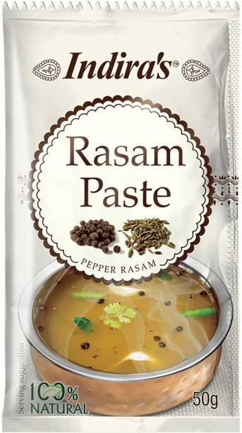 Indira Pepper Rasam Paste 50g Pack of 9