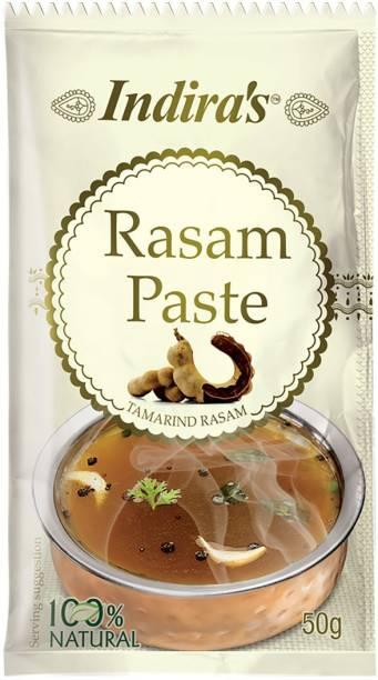 Indira Tamarind Rasam Paste 50g Pack of 9